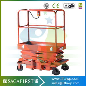 4m Light Stable Quality Portable Scissor Lift Aerial Platforms pictures & photos