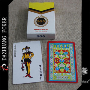 Customized 100% Plastic Playing Cards pictures & photos