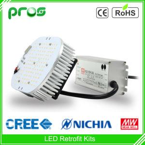 Nichia CREE LED & Meanwell Driver 80W Wall Pack Shoebox LED Retrofit Kits pictures & photos