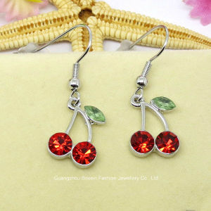 2015 Popular Colorful Mini Cherry Jewellry Earring pictures & photos