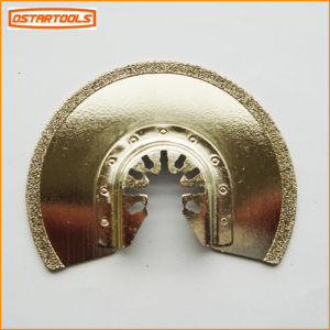 "86mm (3-3/8"") Diamond Semicircle Blade Fit for Bosch Fein pictures & photos"