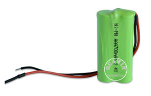 AAA Size Battery 2.4V 750mAh NiMH Battery Pack for LED Light, Helicopter pictures & photos