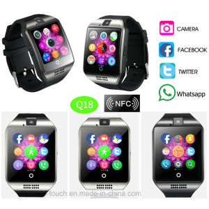 Curved Touch Screen Smart Watch Phone with Camera pictures & photos