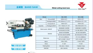 Metal Cutting Bandsaw (BS916B) pictures & photos