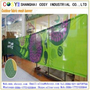 Outside Display Perforated Mesh Banner for Advertising pictures & photos