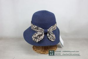 Paper Straw Hat (XH-PA2101) pictures & photos