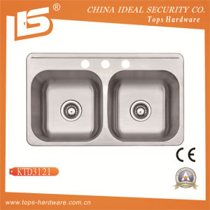 Cupc Sinks, Stainless Steel Kitchen Sinks (KTD3121) pictures & photos