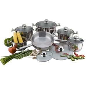 Stainless Steel Cookware Set Cooking Pot Casserole Frying Pan S110 pictures & photos
