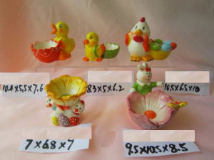 Easter Rabbit Ceramic Egg Holder pictures & photos