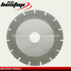 Electroplating Diamond Blade for Stone Cutting and Grinding pictures & photos