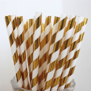 High Quality Party Supply Paper Drinking Straws pictures & photos