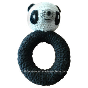 Crochet Baby Toy Grasping and Teething Toys Panda Stuffed Toys pictures & photos