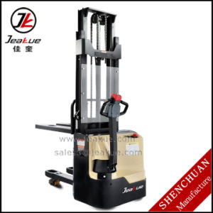 1-2t Two Mast Electric Stacker pictures & photos
