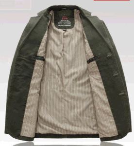 Wholesales OEM Latest Design Men′s Autumn Business Casual Outdoor Washed Cotton Jacket pictures & photos