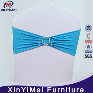 Wholesale Spandex Chair Cover, Spandex Chair Sash with Buckle pictures & photos
