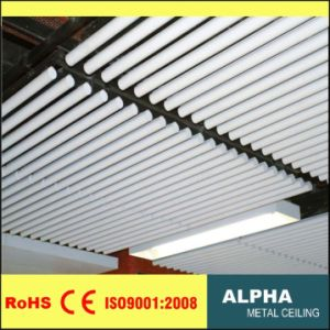 Aluminum Metal False Suspended O Shape Pipe Baffle Ceiling pictures & photos