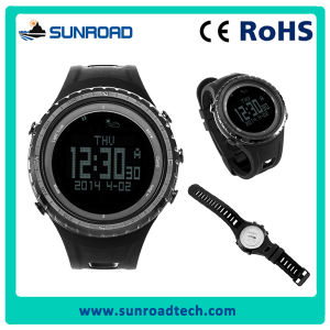 Multifunction Sport Wristwatch for Hiking, Climbing, Traveling