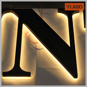 Hot! Top Technology LED Backlit Logos pictures & photos