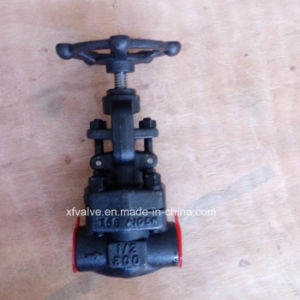 API602 1500lb Forged Carbon Steel A105 Thread End Globe Valve pictures & photos