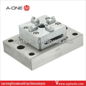 Single Center Manual Steel Chuck Its100 with Base Plate pictures & photos
