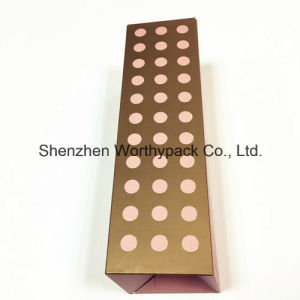 Cosmetic One Piece Paper Box with Flat Packed Available pictures & photos