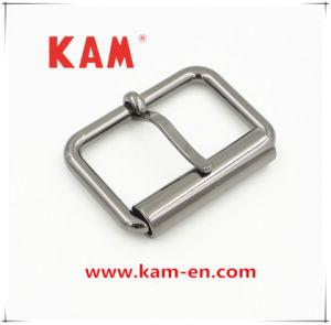 Garment Accessory High Quality Gunmetal Zinc Alloy Metal Belt Buckle with Fashion Design