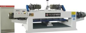 2.6 Meter Numerical Face Veneer Lathe Machine One Roller Motor Power 7.5kw pictures & photos