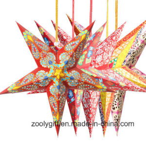 Christmas Festival / Party Decoration Hanging Paper Star Lanterns pictures & photos