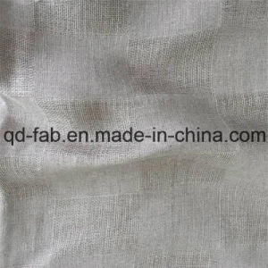 Yarn Dyed Jacquard Linen Fabric (QF16-2471) pictures & photos