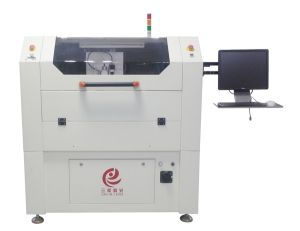 High Laser Power Stainless Steel SMT Laser Cutting/ Cutter Engraving Machine for Various Specifications pictures & photos