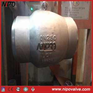 Stainless Steel Flanged Non Slam Nozzle Check Valve pictures & photos