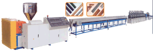 PS Foamed Picture Frame Extrusion Line pictures & photos