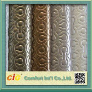 PVC Decorative Leather/PVC Leather for Decoration pictures & photos