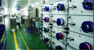 Optical Fiber Secondary Coating Line Loose Tube Extrusion Line pictures & photos