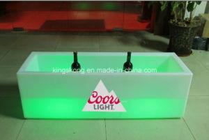 Wholesale Large Rectangle/Square Wine Cooler Illuminated Ice Bucket pictures & photos