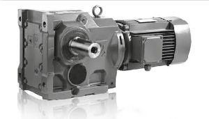 Helical Bevel Gearing Reducer with Motor pictures & photos