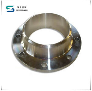 DIN Carbon Steel Stainless Steel Weld Neck/Welding Neck Flange for Pipe Fittings pictures & photos