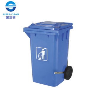 Plastic Garbage Bin for 100L / 120L / 240L with Foot-Pedal Side-Wheel pictures & photos