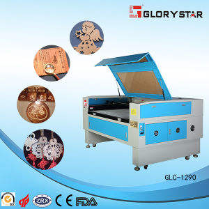 CE SGS Rubber CNC CO2 100W Laser Cutter Glc-1290 pictures & photos
