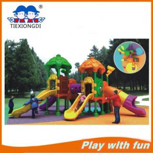 Amusing Plastic Playground Slide Outdoor Playground Equipment for Sale pictures & photos
