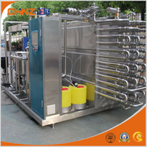 High Efficiency Tubular Milk Pasteurization Machine with Factory Price pictures & photos