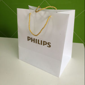 PP polypropylene Plastic bag with printing logo (Branding clear bag) pictures & photos