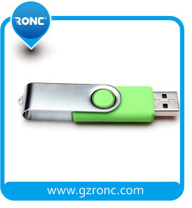 Promotion Swivel USB Flash Disc with Metal Housing pictures & photos