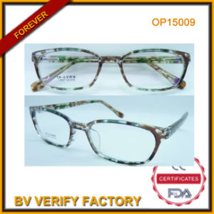 New Design Optical Frames with Colorful Parttern Op15009 pictures & photos