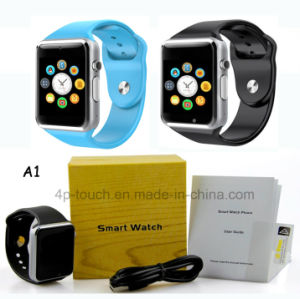 Cheapest Fitness Smart Watch with Camera and SIM Card Slot A1 pictures & photos