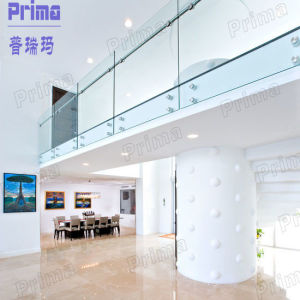 Australia Standard Glass Frameless Glass Railing with Patch Fitting pictures & photos
