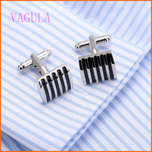 VAGULA Fashion Painting Personality Copper Cufflinks pictures & photos