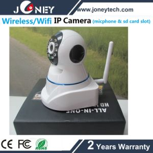 Cheap Night Vision IR Onvif Wireless WiFi IP Camera with Microphone, SD Card pictures & photos
