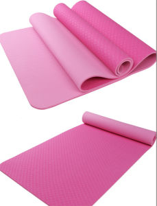 Double Layer TPE Yoga Mat