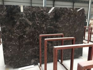 Chinese Dark Emprador Polished Marble for Flooring and Walling Cladding pictures & photos